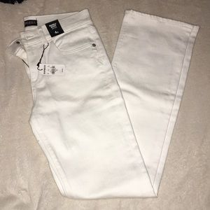 BRAND NEW Express white jeans size 4S
